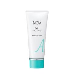 にきび肌スキンケアのウォッシングフォーム(洗顔フォーム)|NOV